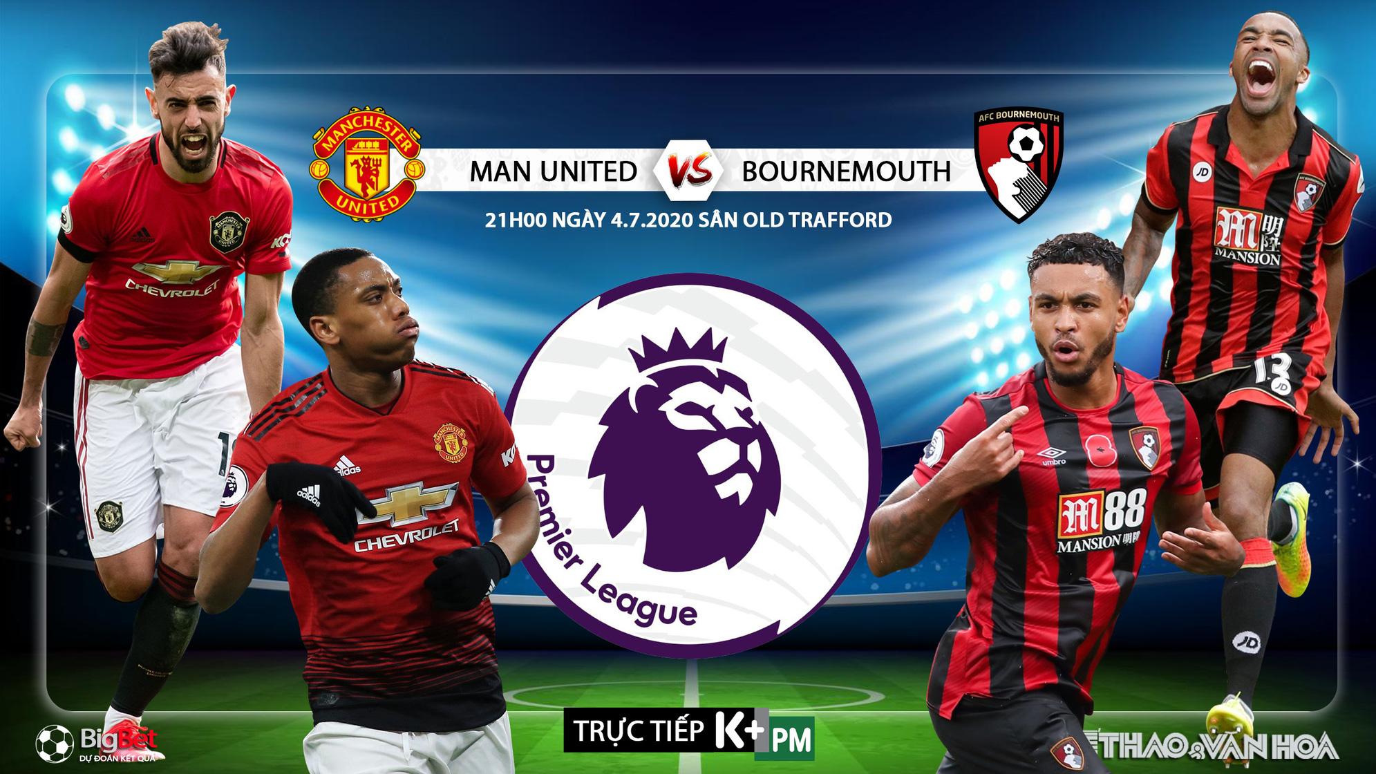 Soi kèo bóng đá MU vs Bournemouth. Trực tiếp bóng đá Ngoại ...