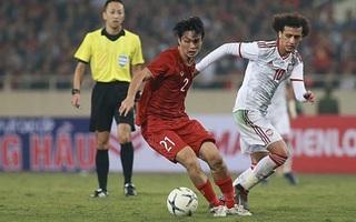 Những pha xử lý đỉnh cao của Tuấn Anh trong trận đấu với UAE
