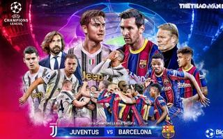 Soi kèo nhà cái Juventus vs Barcelona. Vòng bảng Cúp C1 châu Âu. Trực tiếp K+PM
