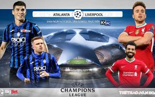Soi kèo nhà cái Atalanta vs Liverpool. Vòng bảng Cúp C1 châu Âu. Trực tiếp K+PC