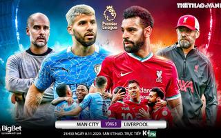 Soi kèo nhà cái Man City vs Liverpool . Vòng 8 giải Ngoại hạng Anh. Trực tiếp K+ PM