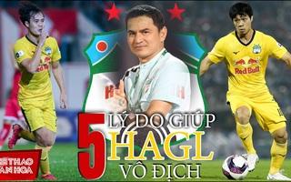 Tiết lộ lý do giúp HAGL vô địch LS V-League 2021?