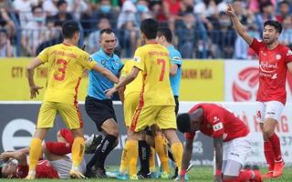 VIDEO: Highlights và bàn thắng Thanh Hóa 1-1 TP HCM - Vleague 2021 vòng 9