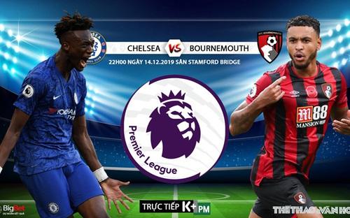 Nhận định, soi kèo Chelsea vs Bournemouth (22h00 ngày 14/12). Vòng 17 Giải ngoại hạng Anh