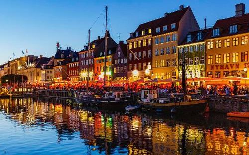 Kênh Nyhavn, Copenhagen lung linh mùa Giáng sinh