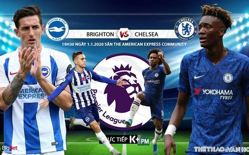 Soi kèo Brighton vs Chelsea (19h30, 01/01) vòng 21 giải Ngoại hạng Anh. Trực tiếp K+PM