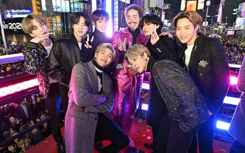 Màn biểu diễn năm mới tại Mỹ của BTS được ARMY ráo riết tìm kiếm