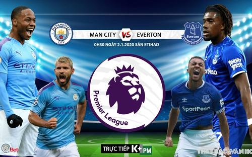 Soi kèo Man City vs Everton (00h30 ngày 2/1). Vòng 21 Giải ngoại hạng Anh . Trực tiếp K+PM