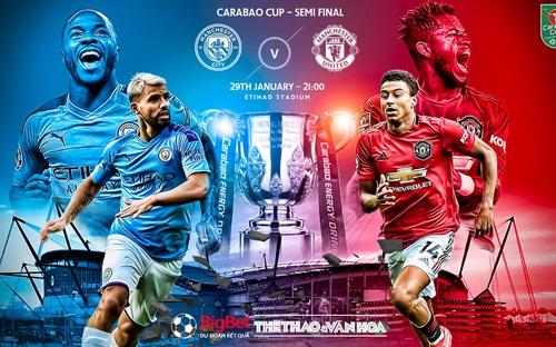 Soi kèo Manchester UTD - Manchester City. Bán kết lượt đi Cúp Liên đoàn Anh