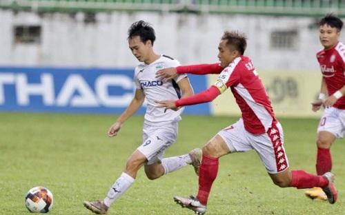 Bóng đá Việt Nam: Highlights HAGL 5-2 TPHCM vòng 13 V-League