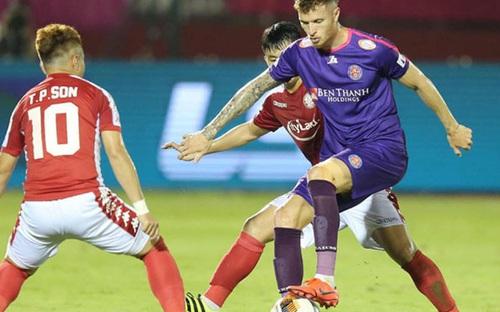 Bàn thắng và Highlight: Sài Gòn 0-0 TPHCM, vòng 3 giai đoạn V-League 2020