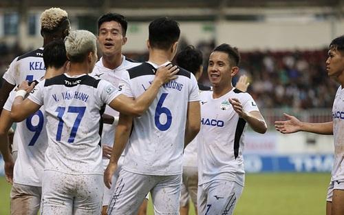 """Bóng đá Việt Nam: HAGL thoát hiểm phút chót nhưng không có """"cửa"""" vô địch V-League 2020"""