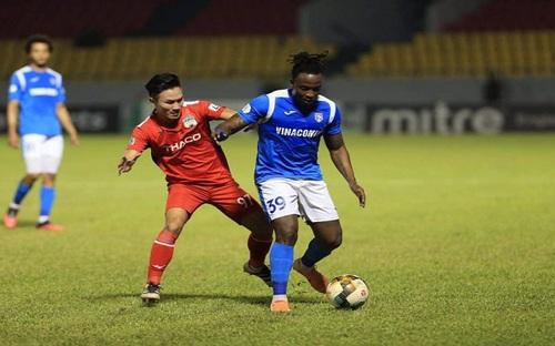 Highlights và bàn thắng: Than Quảng Ninh 3-1 HAGL