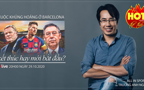 Bóng đá Tây Ban Nha: Khủng hoảng ở Barca kết thúc hay mới bắt đầu?
