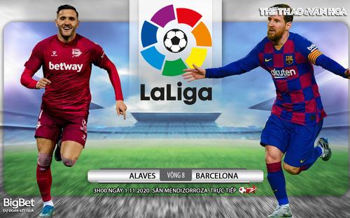 Soi kèo nhà cái Alaves vs Barcelona. Vòng 8 La Liga. Trực tiếp BĐTV