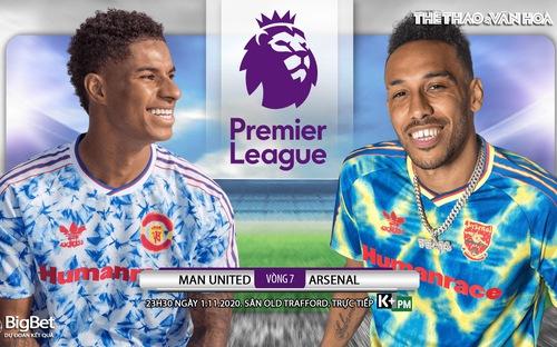 Soi kèo nhà cái Manchester UTD vs Arsenal. Vòng 7 Giải ngoại hạng Anh. Trực tiếp K+ PM