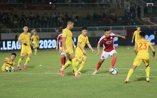 Bàn thắng và highlight Hồng Lĩnh Hà Tĩnh 2-3 TPHCM, vòng 6 nhóm A V League 2020