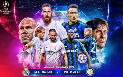 Soi kèo nhà cái Real Madrid - Inter Milan. Vòng bảng Cúp C1 châu Âu. Trực tiếp K+PC