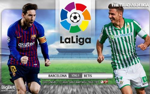 Soi kèo nhà cái Barcelona vs Betis. Vòng 9 La Liga. Trực tiếp Bóng đá TV