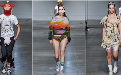Những thiết kế kỳ dị tại Tuần lễ thời trang London 2020