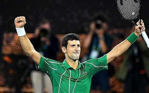 """Vô địch Australian Open, Djokovic đe dọa """"Ngai Vàng"""" của Federer"""