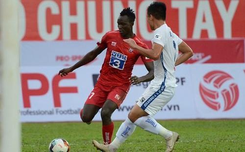 Highlight Hải Phòng 1-1 Quảng Nam: Thoát hiểm nhờ Mpande