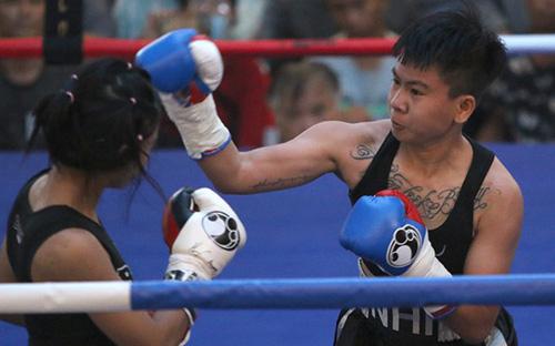Nữ võ sĩ boxing đầu tiên của Việt Nam sở hữu đai WBO châu Á