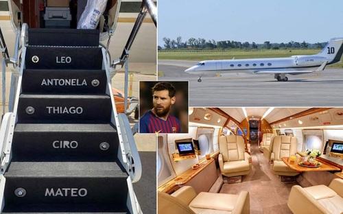 Messi sở hữu máy bay trị giá 12 triệu bảng