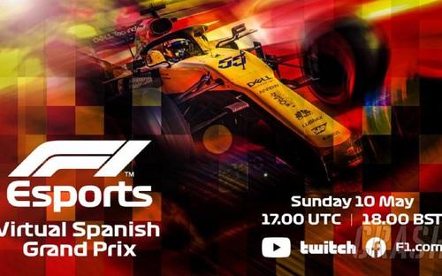 Chặng 5 giải F1 Esport Virtual 2020 ở Tây Ban Nha