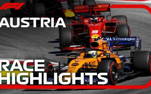 Quy định mới của giải F1 khi mở màn chặng đua ở Áo