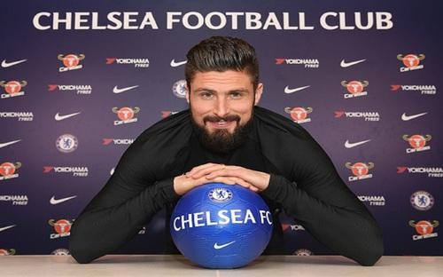 Chelsea gia hạn hợp đồng với Olivier Giroud thêm 1 năm