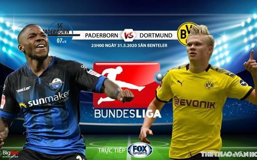 Soi kèo  Paderborn vs Dortmund (23h00 ngày 31/5). Vòng 29 Bundesliga. Trực tiếp FOX Sports