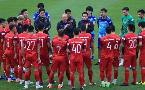 HLV Park Hang Seo chốt thời gian tập trung đội tuyển vào tháng 8