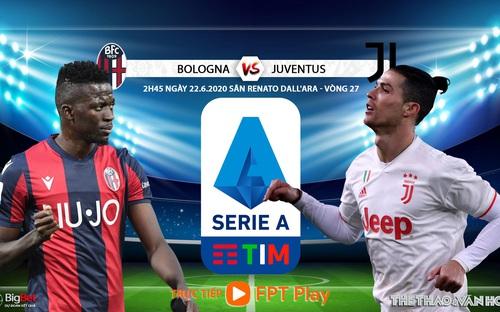 Soi kèo nhà cái Bologna vs Juventus vs Napoli. Trực tiếp bóng đá vòng 27 Serie A