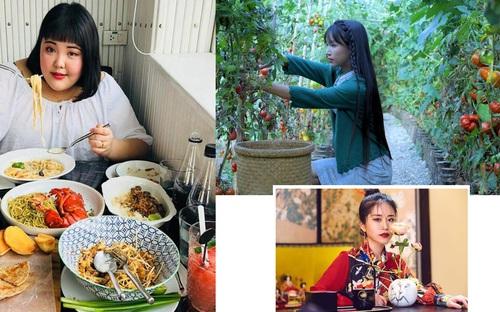 Chân dung 3 cô gái Châu Á làm mưa làm gió trên mạng nhờ các clip ăn uống