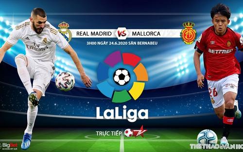 Soi kèo bóng đá Real Madrid - Mallorca . Trực tiếp bóng đá Tây Ban Nha