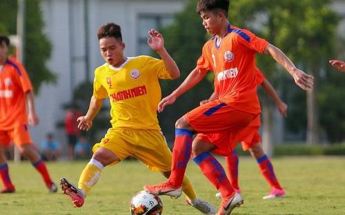 U19 SLNA - U19 CAND: Thi đấu thiếu fair-play, đá ma 20 phút