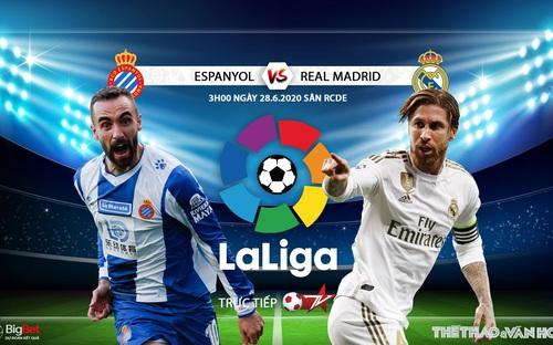 Soi kèo bóng đá Espanyol - Real Madrid. Trực tiếp bóng đá Vòng 32 La Liga. BĐTV