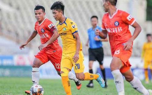 Bàn thắng và Highlight Nam Định 3-0 SLNA: Ánh sáng cuối đường hầm