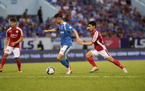 Bàn thắng và highlight Than Quảng Ninh 0-3 TPHCM