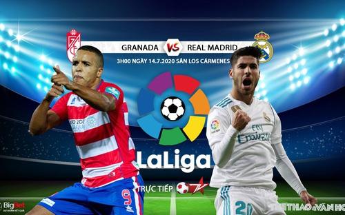Soi kèo bóng đá Granada vs Real Madrid. Trực tiếp bóng đá Vòng 36 La Liga. BĐTV
