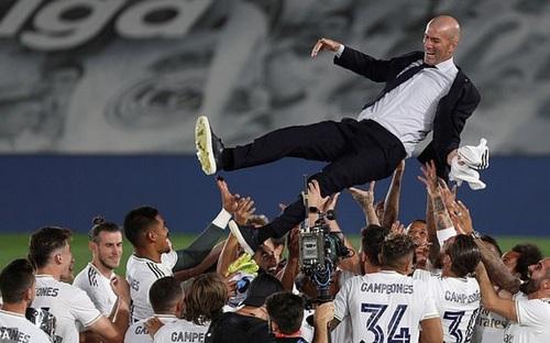 Real Madrid, HLV Zidane và chức vô địch La Liga kỳ lạ