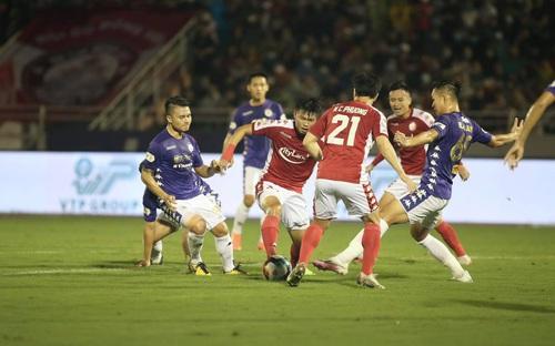 Bàn thắng và highlight TP HCM 0-3 Hà Nội: Hà Nội thắng đậm chủ nhà