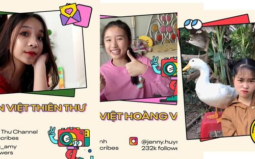 4 cô nàng thuộc thế hệ 2K đang làm mưa làm gió trên Youtube