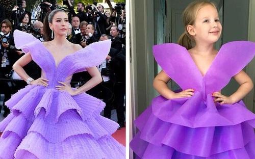 """Bà mẹ có biệt tài """"nhái"""" lại váy hàng hiệu bằng túi giấy, bút màu lộng lẫy hơn cả bản chính"""
