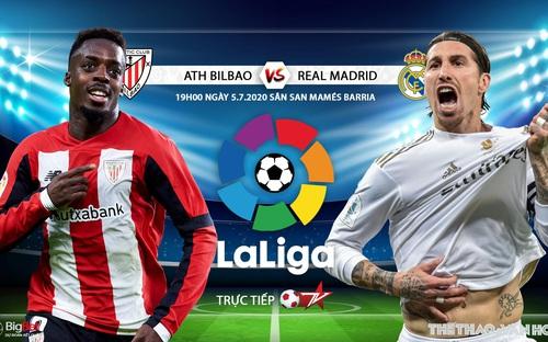 Soi kèo bóng đá Ath Bilbao - Real Madrid . Vòng 34 La Liga. Trực tiếp BĐTV