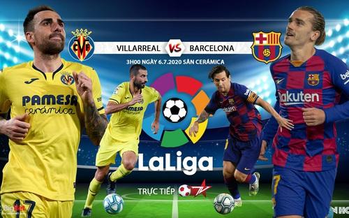 Soi kèo bóng đá Villareal -Barcelona . Trực tiếp bóng đá Vòng 33 La Liga. BĐTV