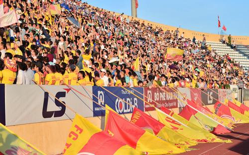 Nam Định nộp phạt nhiều nhất V League từ mùa giải 2019 đến nay