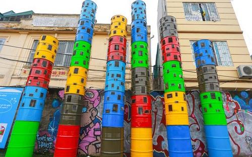 Họa sĩ Trần Hậu Yên Thế và giấc mơ về nghệ thuật công cộng tại Hà Nội