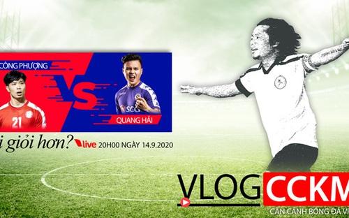 Bóng đá Việt Nam: Công Phượng - Quang Hải, ai giỏi hơn?
